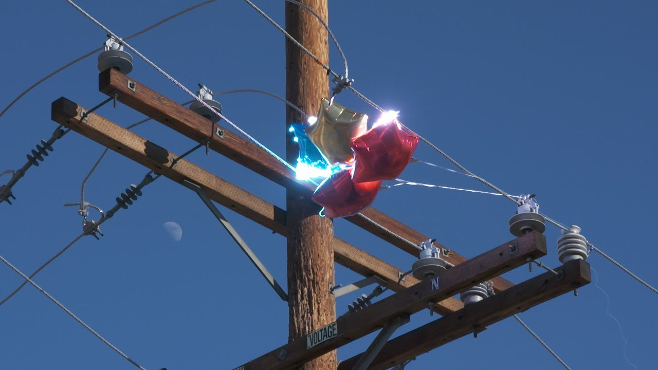 How Balloons Affect Power Lines
